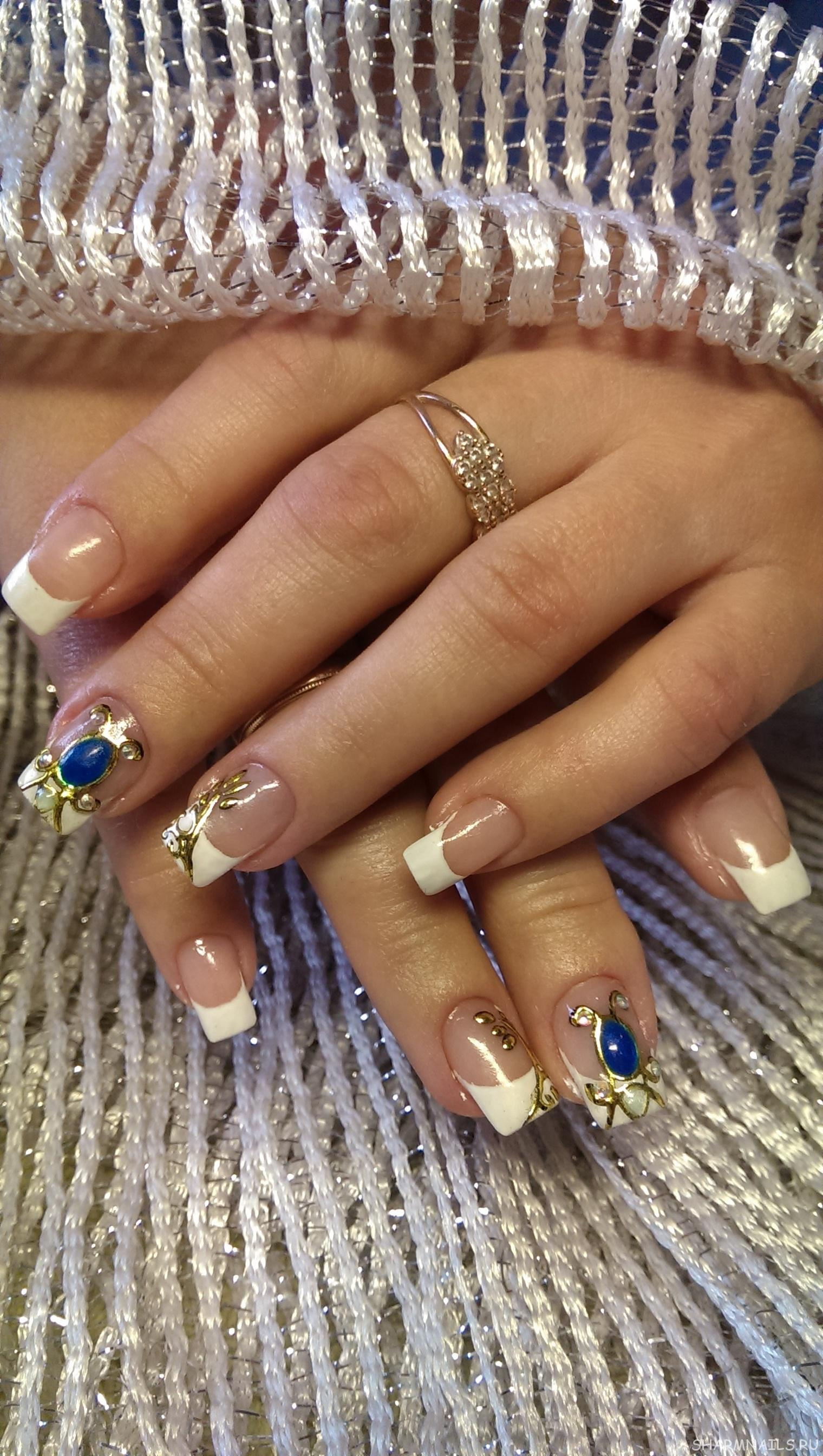 Дизайн ногтей 2018 фото новинки с жидким камнем